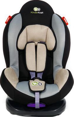 Автокресло KinderKraft Shell Plus Gray - вид спереди