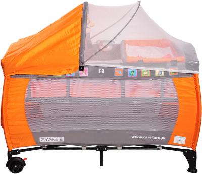 Кровать-манеж Caretero Grande (Orange) - общий вид