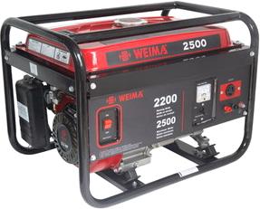 Бензиновый генератор Weima WM 2500 - общий вид