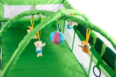 Кровать-манеж KinderKraft Jolly KKJC - общий вид