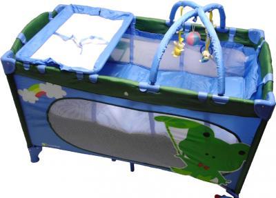 Кровать-манеж KinderKraft Jolly KKJF - общий вид