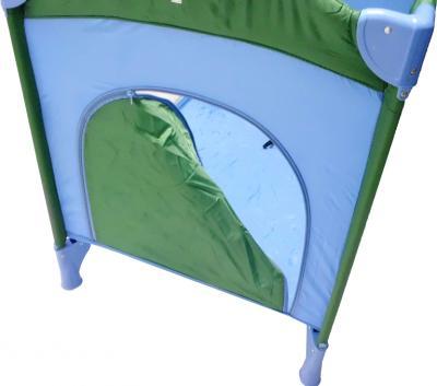 Кровать-манеж KinderKraft Jolly KKJF - детальное изображение: лаз для ребенка