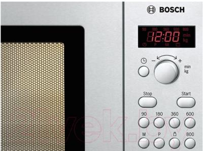 Микроволновая печь Bosch HMT75M421 - панель