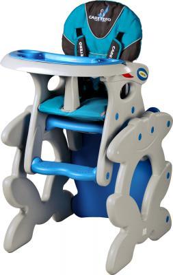 Стульчик для кормления Caretero Primus (синий) - общий вид