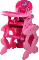 Стульчик для кормления Caretero Primus  (розовый) -