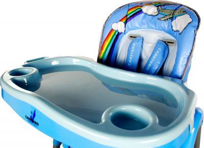 Стульчик для кормления Caretero Magnus (синий) - поднос