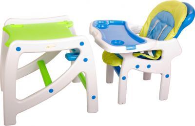 Стульчик для кормления KinderKraft Planet Green - общий вид