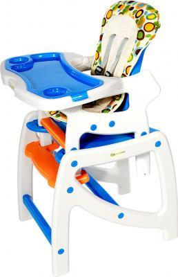 Стульчик для кормления KinderKraft Planet White - высокий стульчик