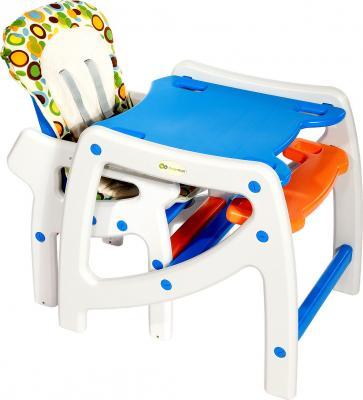 Стульчик для кормления KinderKraft Planet White - общий вид
