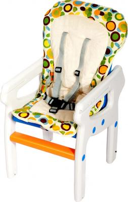 Стульчик для кормления KinderKraft Planet White - стул