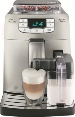 Кофемашина Philips Intelia One Touch Cappuccino Metal (HD8753/89) - общий вид