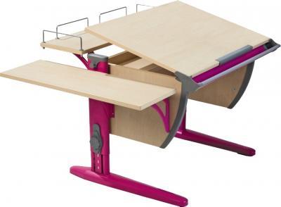 Парта+стул Дэми СУТ 14-02 (розовый, клен) - стол
