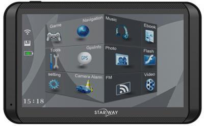 GPS навигатор Starway 500M - спереди