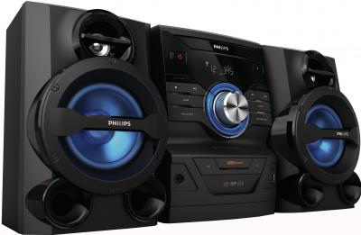 Минисистема Philips FWM210 (FWM210/12) - вид сбоку