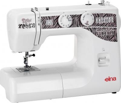 Швейная машина Elna Sew Zebra - общий вид