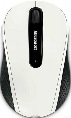 Мышь Microsoft Wireless Mobile Mouse 4000 White - общий вид