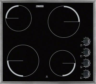 Электрическая варочная панель Zanussi ZEV6140XBA - общий вид