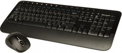 Клавиатура+мышь Microsoft Wireless Desktop 2000 (M7J-00012) - общий вид