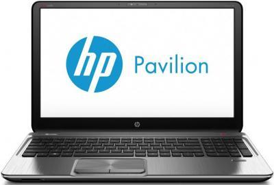 Ноутбук HP Pavilion m6-1062er (B4A13EA) - фронтальный вид