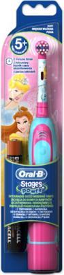 Электрическая зубная щетка Braun Oral-B Stages Power DB4.510 84850536 (принцесса) - для девочек