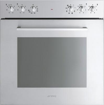 Электрический духовой шкаф Smeg SC0485X-8 - общий вид