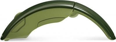 Мышь Microsoft Microsoft ARC Mouse USB Green (ZJA-00040) - вид сбоку
