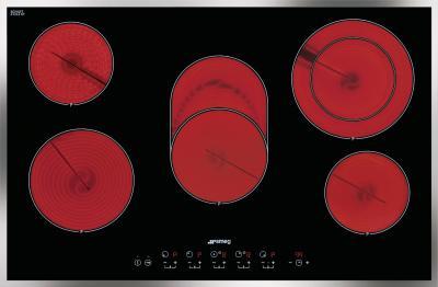 Электрическая варочная панель Smeg SE2773CX2 - общий вид