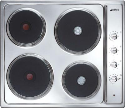 Электрическая варочная панель Smeg SE435X-1 - общий вид