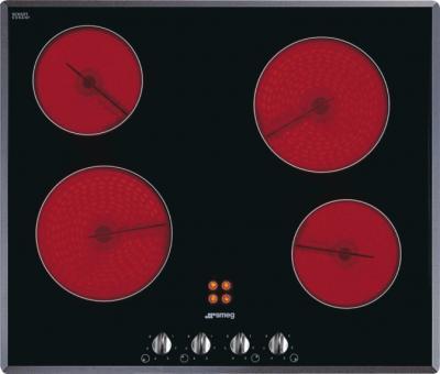 Электрическая варочная панель Smeg SE660X1 - общий вид