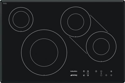 Индукционная варочная панель Smeg SI3842B - общий вид
