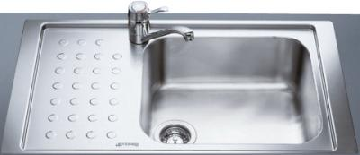 Мойка кухонная Smeg LV95F1D-2 - общий вид