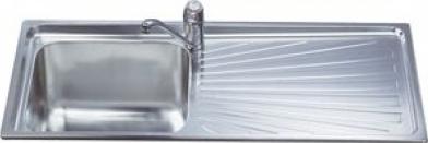 Мойка кухонная Smeg SGE116.1D - общий вид