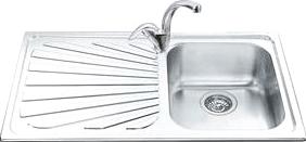 Мойка кухонная Smeg SP861S - общий вид