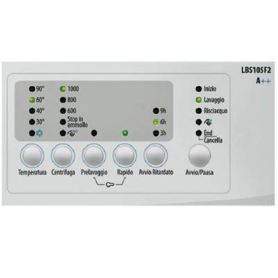 Стиральная машина Smeg LBS105F2 - кнопочная панель