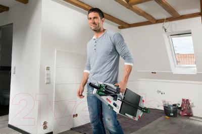 Плиткорез ручной Bosch PTC 640 (0.603.B04.400) - в работе