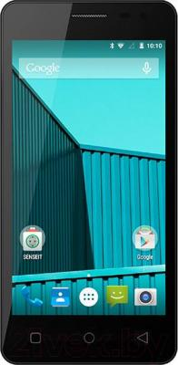 Смартфон Senseit E400 (серый)