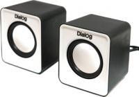 Мультимедиа акустика Dialog Colibri AC-02UP (черно-белый) -