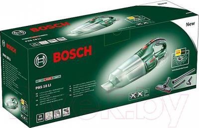 Портативный пылесос Bosch PAS 18 LI (0.603.3B9.001) - коробка