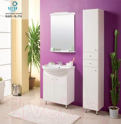 Шкаф для ванной Акватон Минима (1A001703MN010) - комплект мебели Минима