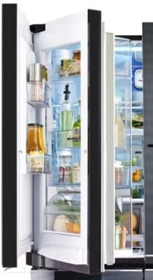 Холодильник с морозильником LG GR-D24FBGLB