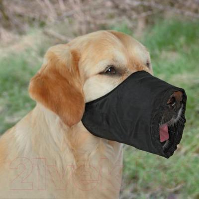 Намордник для собак Trixie 1922 (S-M, черный) - общий вид