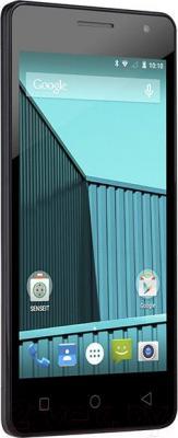 Смартфон Senseit E400 (синий)