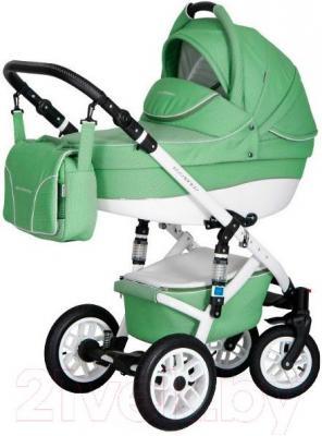 Детская универсальная коляска Expander Essence 2 в 1 (зеленое яблоко)