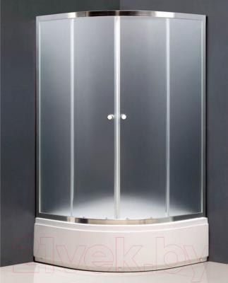 Душевой уголок Coliseum Otlon N 80 (тониров. стекло/блестящий хром)