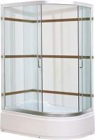 Душевой уголок Coliseum Satriya 120 L (тонированное стекло) -