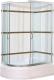 Душевой уголок Coliseum Satriya 120 R (тонированное стекло) -