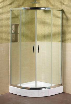 Душевой уголок Coliseum Classic КS-619А (100х100, прозрачное стекло)