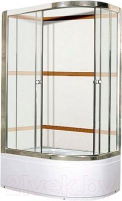 Душевой уголок Coliseum Satriya 100 L (тонированное стекло)