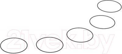 Экшн-камера Replay XD Prime X - уплотнительные кольца передней и задней крышек в комплекте