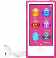 MP3-плеер Apple iPod nano 16Gb MKMV2QB/A (розовый) -
